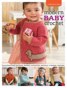 3 Skeins or Less Modern Baby Crochet Book Review at Oombawka Design Crochet