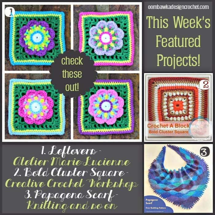 Featured Projects - Papagena Scarf and Afghan Squares