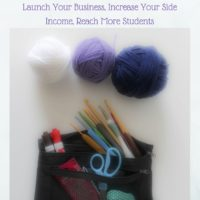 How To Teach A Lefty to Crochet, if YOU are a Righty