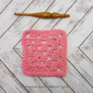 Mitered Granny Square Dishcloth Pattern and Tutorial