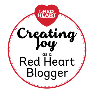 Creating Joy as a Red Heart Blogger