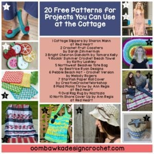 20 Free Patterns for Projects You Can Use at the Cottage