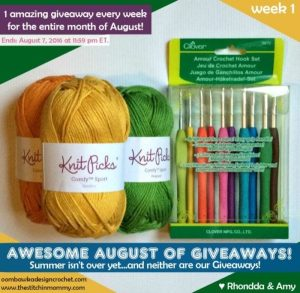Awesome August of Giveaways Oombawka Design and The Stitchin Mommy