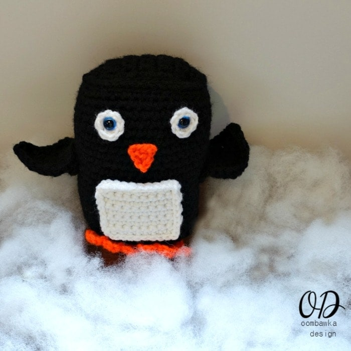 Baby Penguin Christmas in July Blog Hop