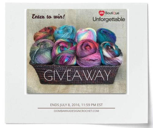 Celebrate with a Boutique Unforgettable Yarn Giveaway