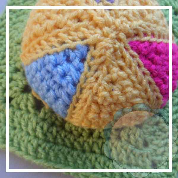 Colorful Rainbow Ball - Creative Crochet Workshop 2