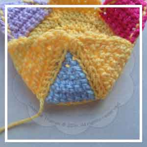 Colorful Rainbow Ball - Creative Crochet Workshop 17