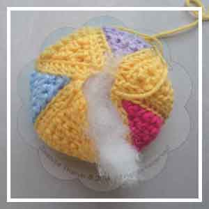 Colorful Rainbow Ball - Creative Crochet Workshop 22