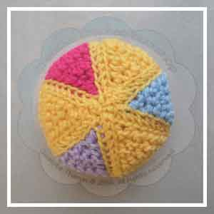 Colorful Rainbow Ball - Creative Crochet Workshop 25