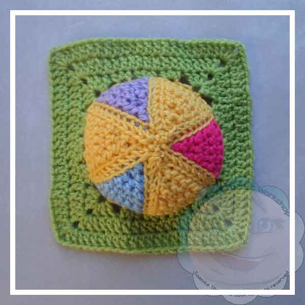 Colorful Rainbow Ball - Creative Crochet Workshop 29