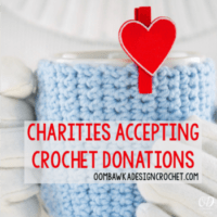 Charities Accepting Crochet Donations.
