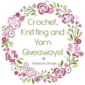 Crochet, Knitting and Yarn Giveaways! Giveaways for the week of August 7th - 14th. If you are hosting a yarn related giveaway too, remember you can add your link to the list right here!
