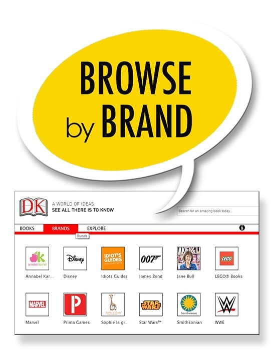 DK Browse By Brand