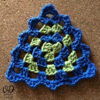 Granny Triangle Dishcloth