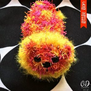 Cosmo The Little Lion Oombawka Design