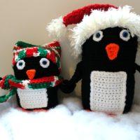 Penguin Family Christmas In July