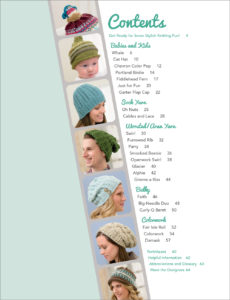 Knit Beanies - Easy to Knit, Fun To Wear Table of Contents