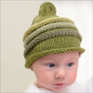 Fiddlehead Fern - Knit Beanies Martingale Book Review