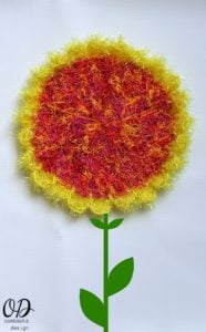Sunflower Scrubby