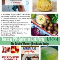 Refreshing Summer Treats, Recipes, DIY Soaps and Crochet!