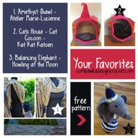 Your Favorites: Talented Balancing Elephant, Amethyst Shawl and Cats House
