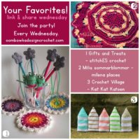 Your Favorites! Crochet Villages, Crochet Coasters & Treats and Gifts!