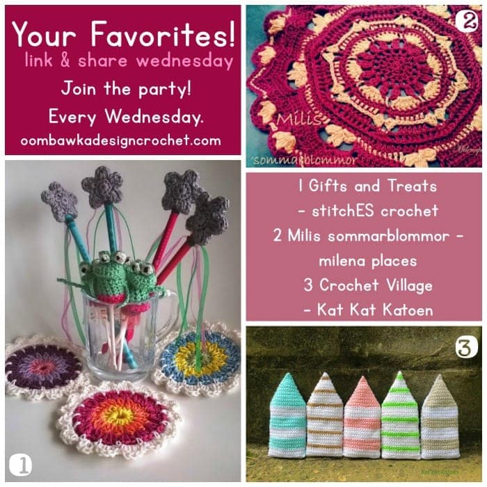 Your Favorites Crochet Villages, Crochet Coasters & Treats and Gifts!