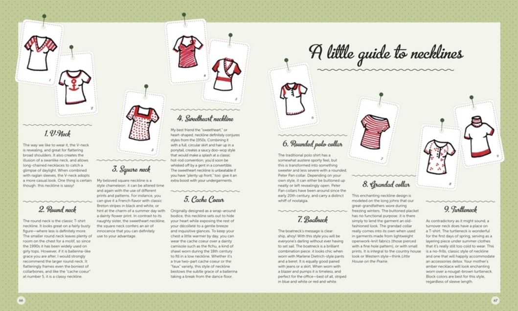 Sew Happy Karin Ziegler Book Review A Little Guide to Necklines