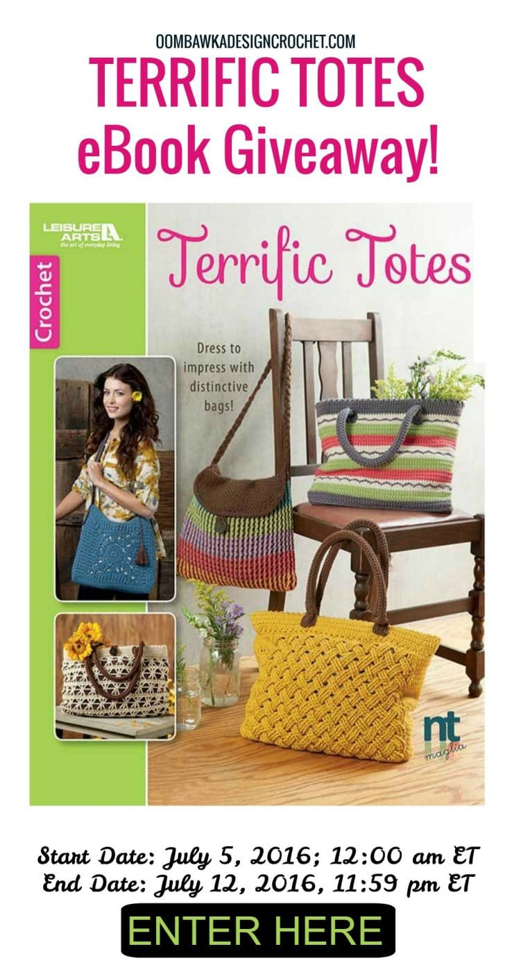 Terrific Totes eBook Giveaway Oombawka Design