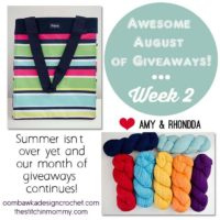 Awesome August of Giveaways Week 2!