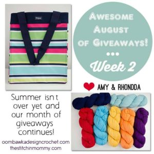 Giveaway Week 2 - Awesome August of Giveaways!