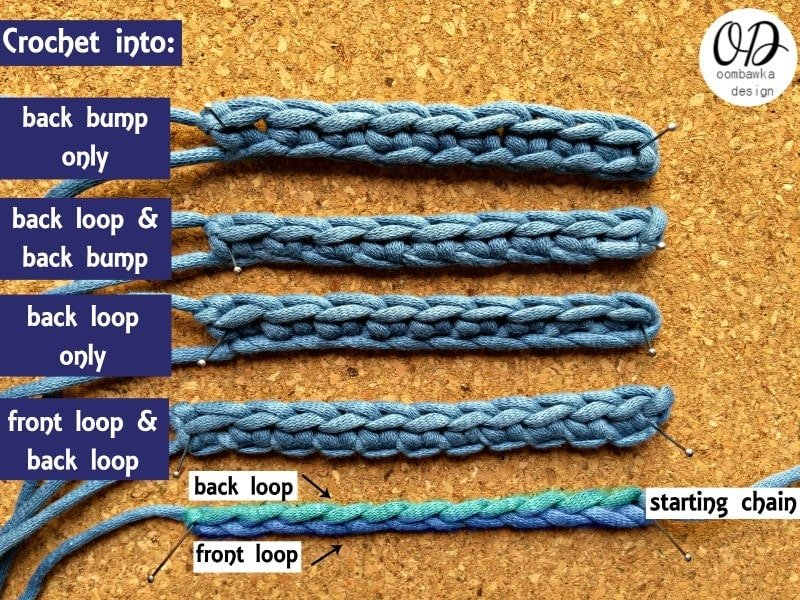 Crocheting Into Chain : ... How to Crochet: Beginner Level Videos ? Oombawka Design Crochet