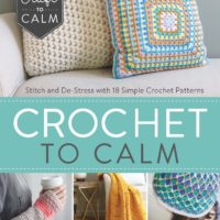 Crochet To Calm – Book Review & Chevron Scarf Excerpt