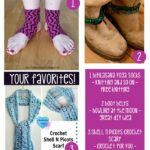 Your Favorites: Yoga Socks, Boot Belts and Pretty Picot Scarf