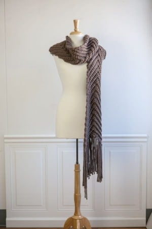 Chevron Scarf - Crochet To Calm