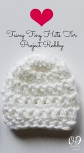 Teeny Tiny Hats For Project Robby 1