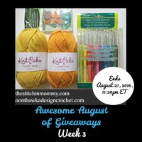 Awesome August of Giveaways Week 3