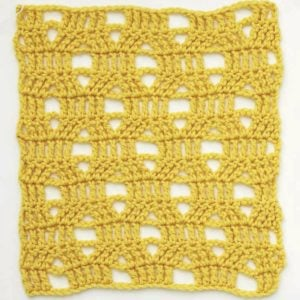 Open Honeycomb Pattern - Melissa Leapman's Indispensable Stitch Collection for Crocheters