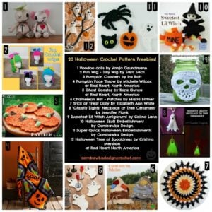 20 Halloween Crochet Pattern Freebies
