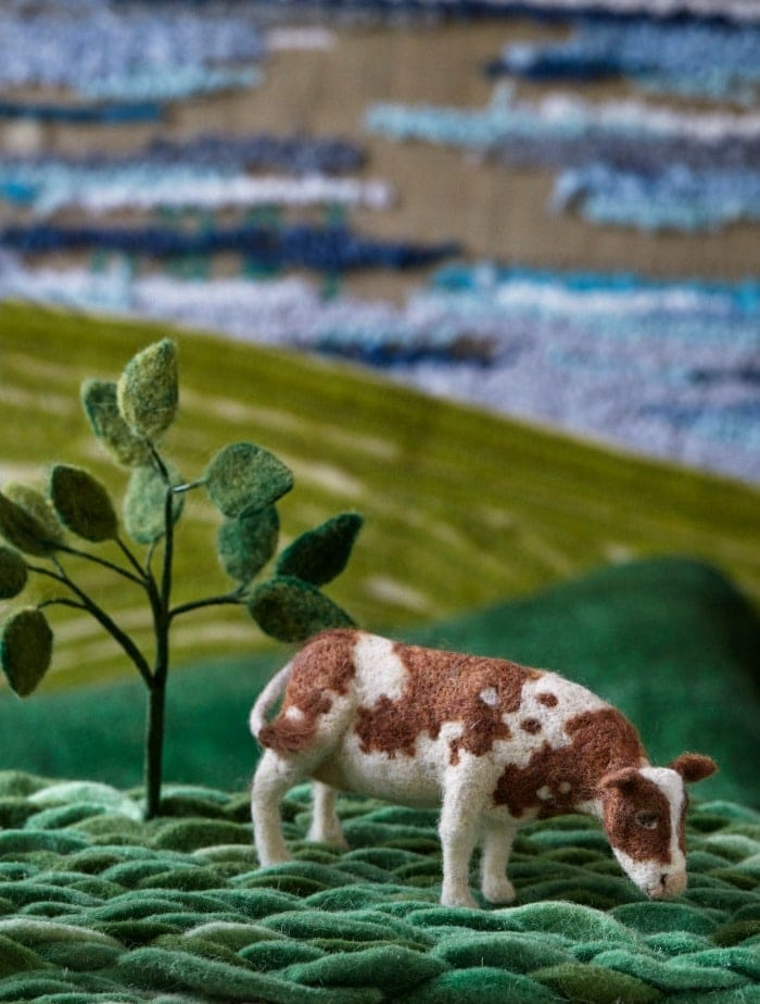 Cow - The Natural World Of Needle Felting Book Review