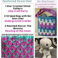 Stunning Star Stitch Pattern, Striped Bag and The Mummy!