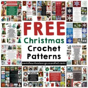 FREE CHRISTMAS CROCHET PATTERNS OOMBAWKADESIGNCROCHET.COM