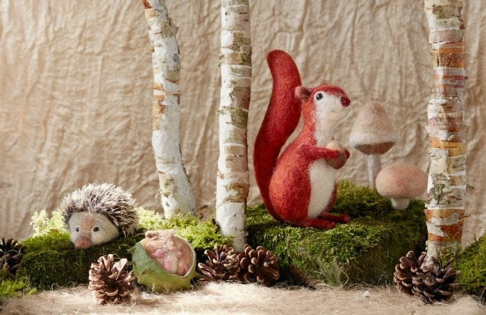 Dormouse, Squirrel and Hedgehog - The Natural World Of Needle Felting Book Review