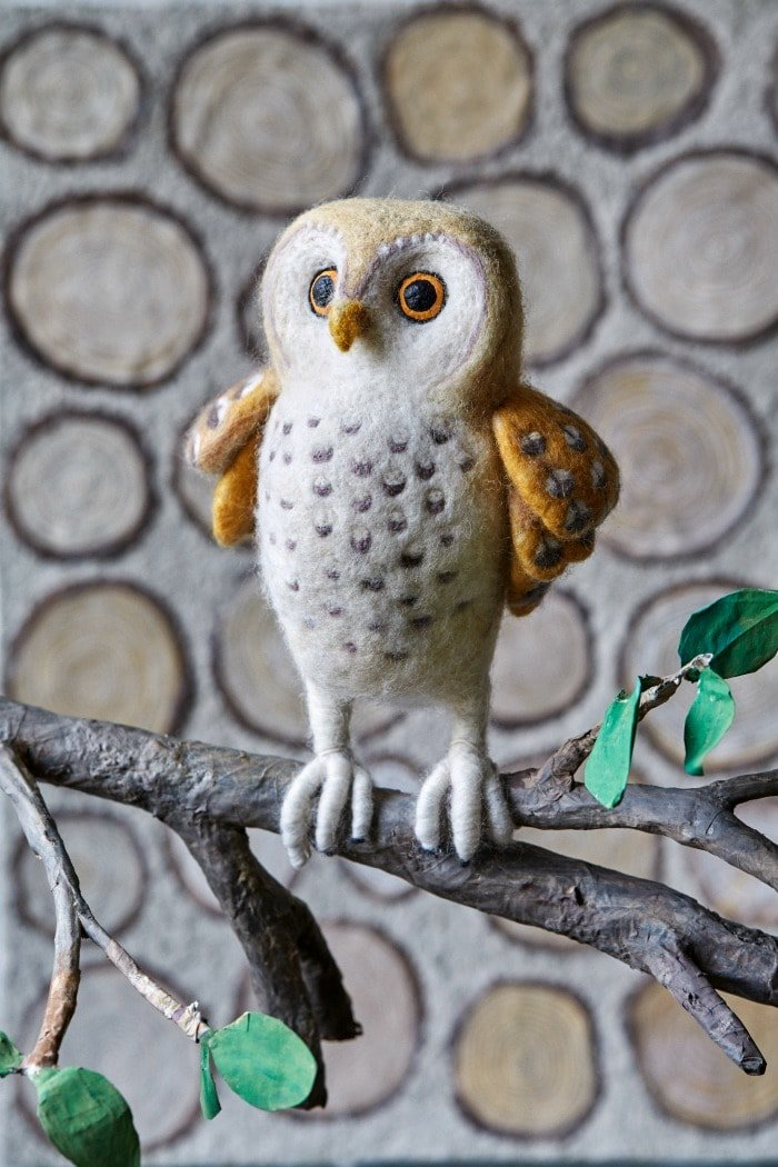 Owl - The Natural World Of Needle Felting Book Review