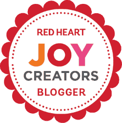 Red Heart Joy Creators Blogger 250