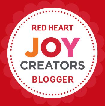 Red Heart Joy Creators Blogger 350