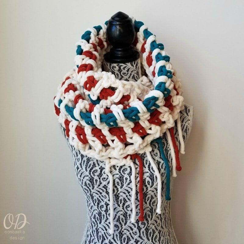 Super Sweet 2 Hour Super Scarf Pattern Oombawka Design Crochet