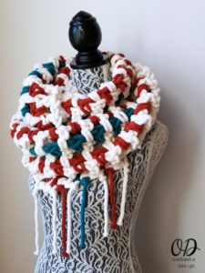 Super Sweet 2 Hour Super Scarf - Oombawka Design 5