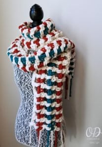 Super Sweet 2 Hour Super Scarf - Oombawka Design 4