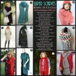 SUPER SCARVES! The Perfect Gift in 2016! 20 Free Patterns